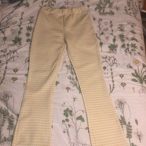 Yellow Gingham Urban Outfitters Pants!💛